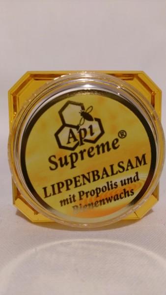 Lippenbalsam mit Propolis im Tiegel